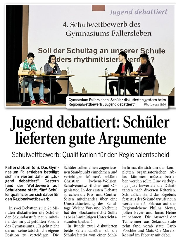 jugendebattiert waz16.01.2015
