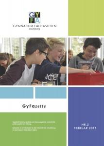 GyFazette02 Titelseite