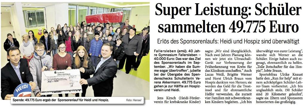 Wolfsburger Allgemeine Zeitung vom 21.11.2015